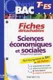 Olivier Thierry - Sciences économiques et sociales Tle ES.