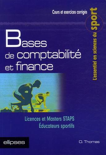 Olivier Thomas - Bases de comptabilité et finance.