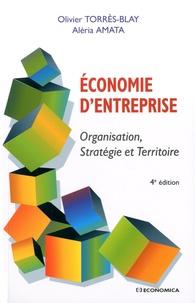 Olivier Torrès-Blay et Aléria Amata - Economie d'entreprise - Organisation, Stratégie et Tertiaire.