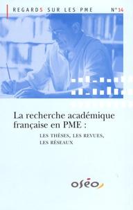 Olivier Torrès - La recherche académique française en PME : les thèses, les revues, les réseaux.