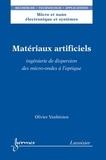 Olivier Vanbésien - Matériaux artificiels - Ingénierie de dispersion des micro-ondes à l'optique.