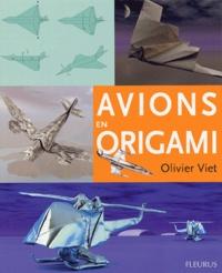 Olivier Viet - Avions en origami.