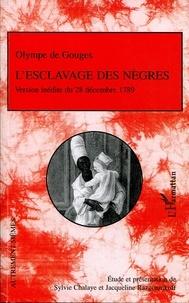 Olympe de Gouges - L'esclavage des nègres ou L'heureux naufrage.