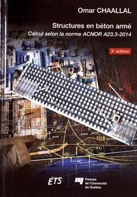Accentsonline.fr Structures en béton armé - Calcul selon la norme ACNOR A23.3-2014 Image