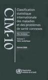 OMS - Classification statistique internationale des maladies et des problèmes de santés - Coffret en 3 volumes.