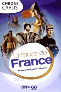 On the Go - L'histoire de France - Mettez de l'ordre dans l'Histoire !.