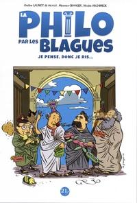 Ondine Lauriot-dit-Prévost et Maxence Granger - La philo par les blagues - Je pense, donc je ris....