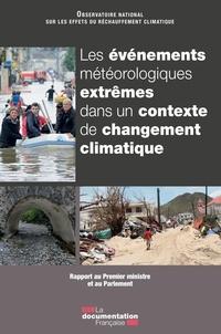 Galabria.be Les événements météorologiques extrêmes dans un contexte de changement climatique - Rapport au Premier ministre et au Parlement Image