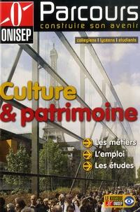 ONISEP - Culture et patrimoine.