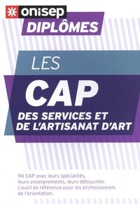 ONISEP - Les CAP des services et de l'artisanat d'art.