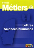 ONISEP - Lettres, sciences humaines.