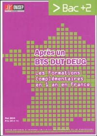 ONISEP Lorraine - Après un BTS, DUT, DEUG - Les formation complémentaires en 1 an en France.