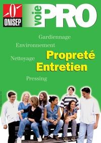 ONISEP - Propreté, entretien : gardiennage, environnement, nettoyage, pressing.