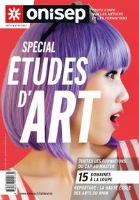 ONISEP - Spécial études d'art.