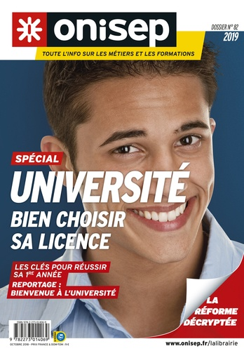 ONISEP - Université : bien choisir sa licence.