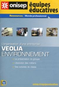 ONISEP - Veolia Environnement - L'organisation d'une entreprise.