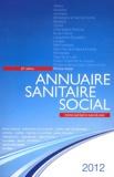 ONPC - Annuaire sanitaire social 2012 - Rhône-Alpes.