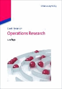 Operations Research.