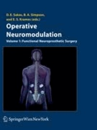 Operative Neuromodulation - Volume 1: Functional Neuroprosthetic Surgery. An Introduction.