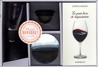 Ophélie Neiman - Coffret L'aérateur de vin - Le petit livre de dégustation avec 1 aérateur de vin et son filtre et 1 jeu de verseurs antigoutte.