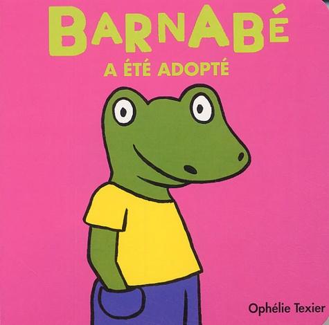 Ophélie Texier - Barnabé a été adopté.