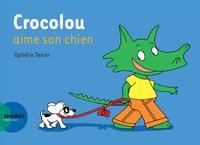 Ophélie Texier - Crocolou aime son chien.