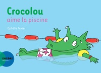 Ophélie Texier - Crocolou  : Crocolou aime la piscine.