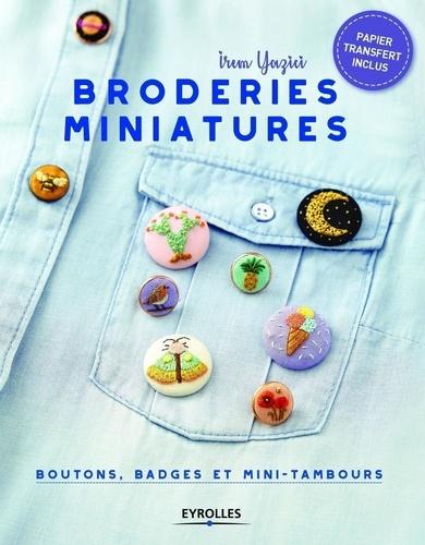 Broderies miniatures  : Boutons, badges et mini-tambours