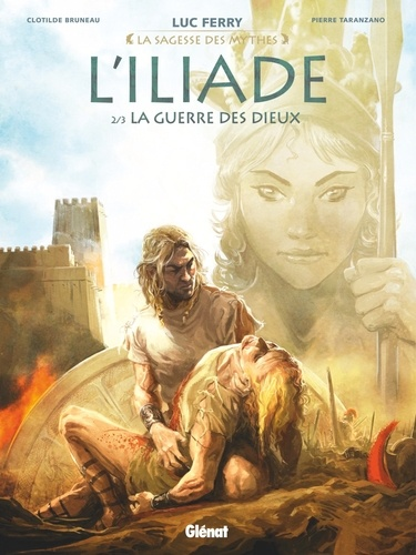 L'Iliade  v.2 , La guerre des dieux