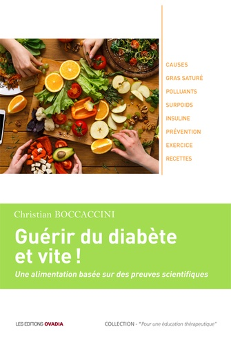 Guérir du diabète et vite  : une alimentation basée sur des preuves scientifiques