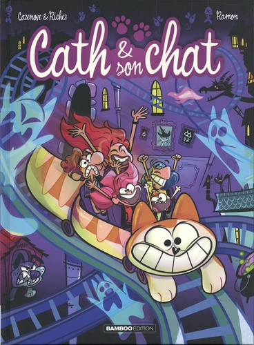 Cath & son chat. 8 / Christophe Cazenove, Hervé Richez | Cazenove, Christophe (1969-....) - Scénariste. Scénariste