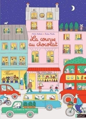 La course au chocolat : Aide Max à retrouver Lapin dans les images ! / Astrid Desbordes | Desbordes, Astrid. Auteur