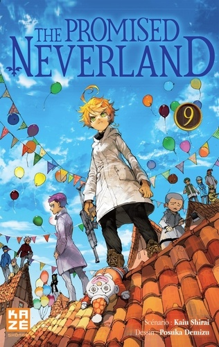 The Promised Neverland : 9 / Kaiu Shirai | Shirai, Kaiu. Scénariste