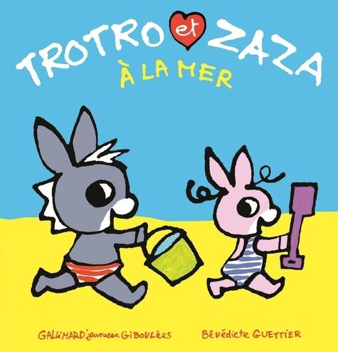Trotro et Zaza à la mer