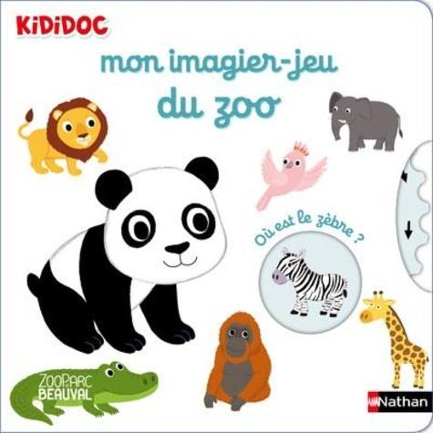 Mon imagier-jeu du zoo
