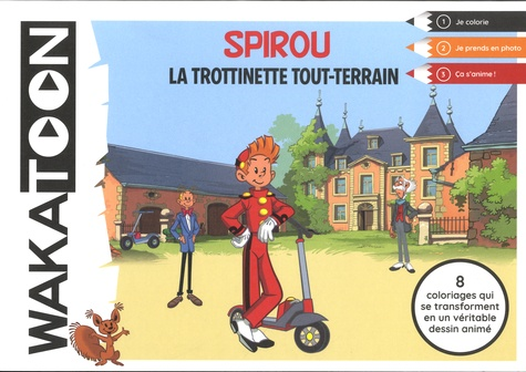 Spirou et Fantasio : La trottinette tout terrain / Mediatoon | Mediatoon. Éditeur commercial