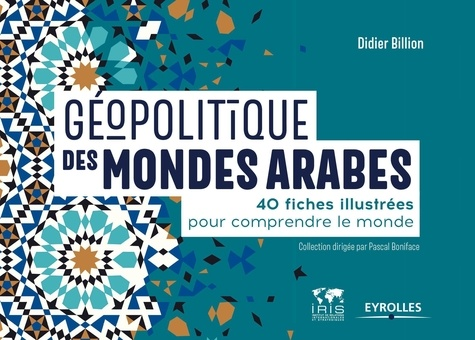 Géopolitique des mondes arabes : 40 fiches illustrées pour comprendre le monde / Didier Billion | Billion, Didier. Auteur