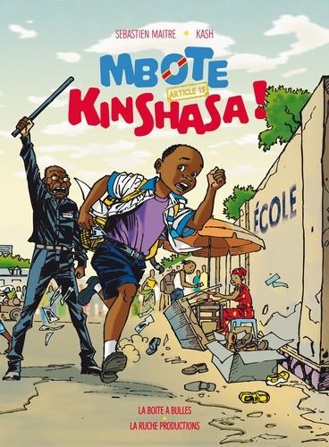 Mbote Kinshasa : Article 15 / Sébastien Maitre | Maitre, Sébastien. Scénariste