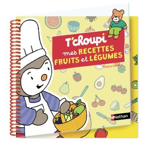 Recettes fruits & légumes / Thierry Courtin | Courtin, Thierry (1954-....). Auteur