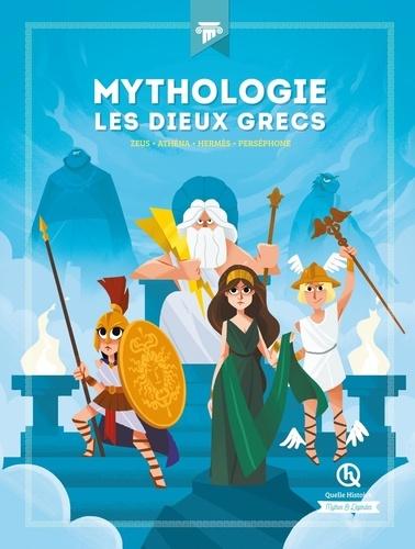 Mythologie Les dieux grecs : Zeus - Athéna - Hermès - Perséphone - / Patricia Crété, Julie Gouazé | Wennagel, Bruno - Illustrateur