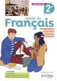 Cahier de Français 2de. Edition 2021
