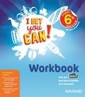 Anglais 6e cycle 3 A1-A2 I bet you can! Workbook, Edition 2017