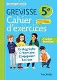 Français 5e Grevisse. Cahier d'exercices