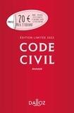 Code civil annoté. Edition limitée, Edition 2022