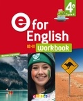Anglais 4e cycle 4 workbook E for english