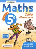 Maths 5e iParcours. Cahier d'exercices, Edition 2019