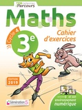 Iparcours maths 3e Cycle 4. Cahier d'exercices, Edition 2019