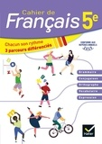 Français 5e. Cahier de Français, Edition 2020