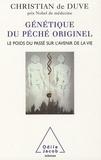 Génétique du péché originel. Le poids du passé sur l'avenir de la vie