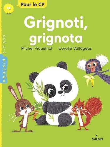 Grignoti, grignota / Michel Piquemal   Piquemal, Michel (1954-....). Auteur